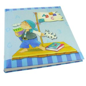 Walther Pirate Blue Traditional Photo Album - 50 Sides