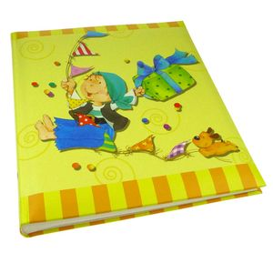 Walther Pirate Yellow Traditional Photo Album - 50 Sides