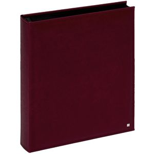 Walther De Luxe Burgundy Extra Large Traditional Photo Album - 80 Black Sides