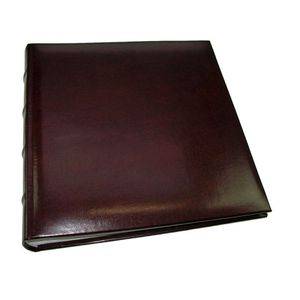 Walther Classic Medium Burgundy Traditional Photo Album - 60 Sides