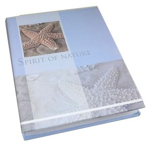 Walther Spirit of Nature Blue Flip 7x5 Slip In Photo Album - 60 Photos
