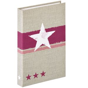 Walther Stellar Red 6x4 Flip Photo Album - 80 Photos