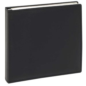 Walther Premium Black Refillable Traditional Album - 100 Sides
