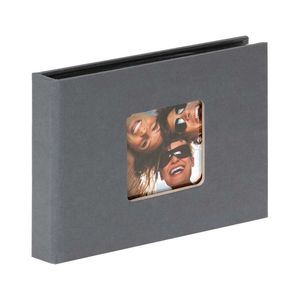 Walther Fun Grey Slip In 6x4 Photo Album - 36 Photos