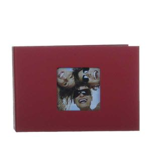 Walther Fun Red Slip In 6x4 Photo Album - 36 Photos