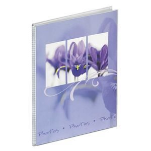 Walther Flora Lilac 7x5 Slip In Photo Album - 36 Photos