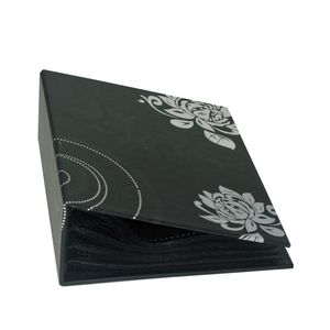 Walther Grindy Black Minimax 6x4 Slip In Photo Album - 100 Photos