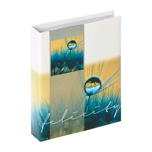 Walther Felicity Blue Slip In 6x4.5 Photo Album - 40 Photos