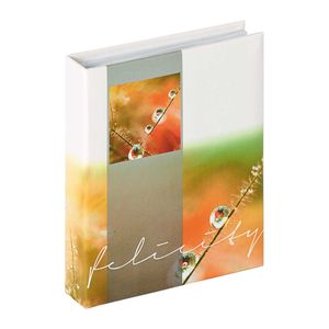 Walther Felicity Orange Slip In 6x4.5 Photo Album - 40 Photos
