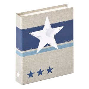 Walther Stellar Blue Slip In 6x4.5 Photo Album - 40 Photos