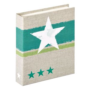Walther Stellar Green Slip In 6x4.5 Photo Album - 40 Photos