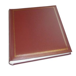 Walther Monza Red 7x5 Slip In Photo Album - 200 Photos