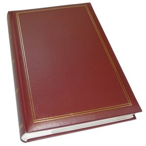 Walther Monza Red 6x4 Slip In Photo Album - 300 Photos