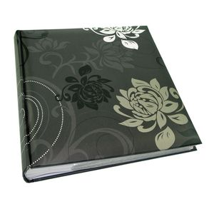 Walther Grindy Black 6x4.5 Slip In Photo Album - 200 Photos