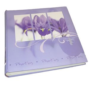 Walther Flora Lilac Traditional Photo Album - 100 Sides