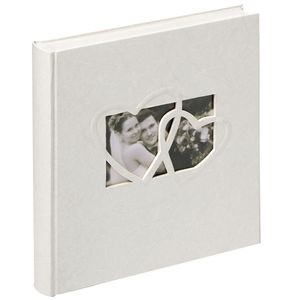 Walther Sweet Heart Traditional Wedding Photo Album - 60 Sides