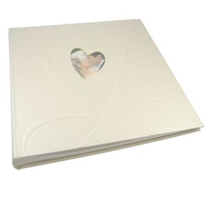 Walther Amore Boxed Traditional Wedding Photo Album - 60 Sides