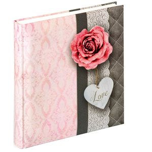 Walther Rose of Love Traditional Wedding Photo Album - 50 Sides