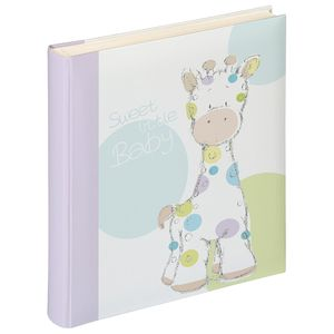 Walther Kima Giraffe Baby Traditional Photo Album - 50 Sides