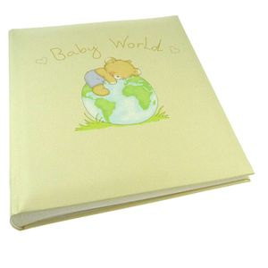 Walther Baby World Traditional Photo Album - 60 Sides