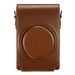 Leica D-LUX 6 Brown Leather Carry Case 18727