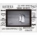Sixtrees Sisters Glass and Mirror 6x4 Photo Frame