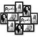 Camberra Black Multi Aperture Photo Frame for 10 6x4 Photos