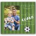 Football Pitch 6x4 inch Photo Frame Overall Size 10x8inches