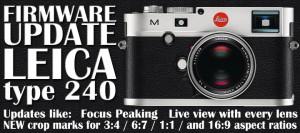 Leica Typ 240 Firmware Update