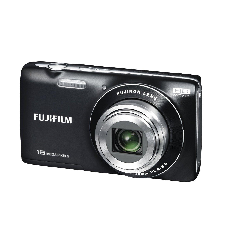 Fuji Digital Cameras: Fujifilm FinePix JZ200 Black Digital Camera