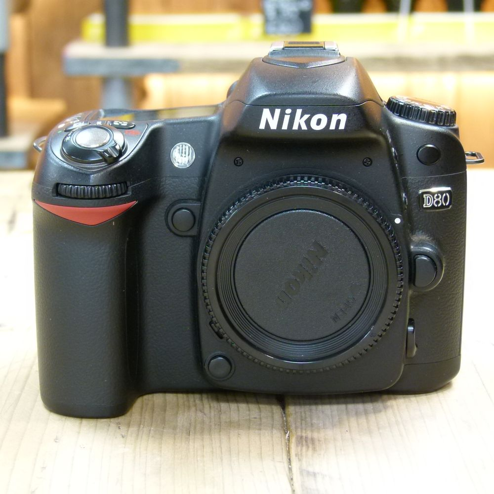 Used Nikon D80 Digital SLR Camera Body - Used Cameras ...