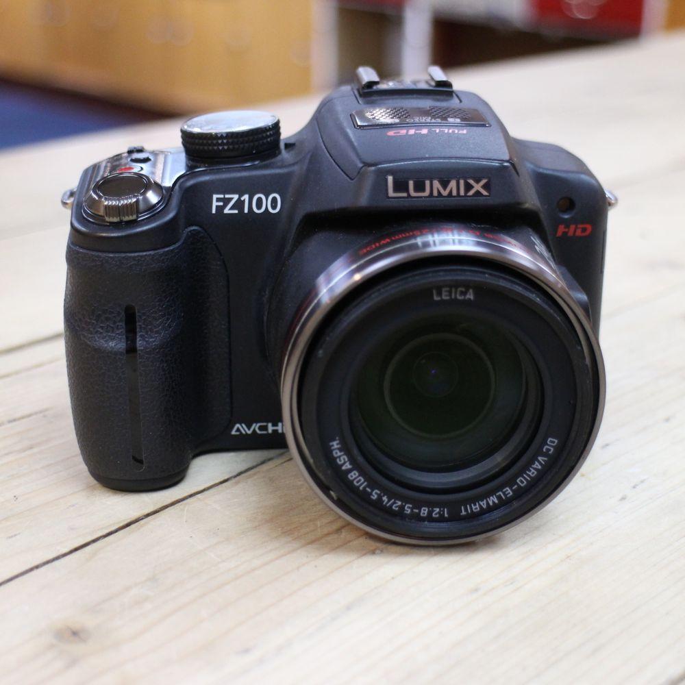 used panasonic lumix dmc fz100 digital bridge camera used cameras used harrison cameras. Black Bedroom Furniture Sets. Home Design Ideas